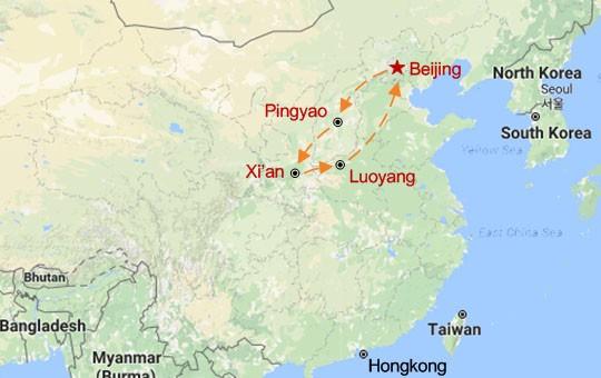 North China Culture Adventure Map