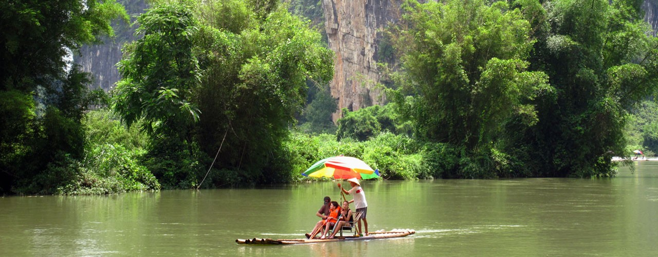 Yangshuo River Rafting
