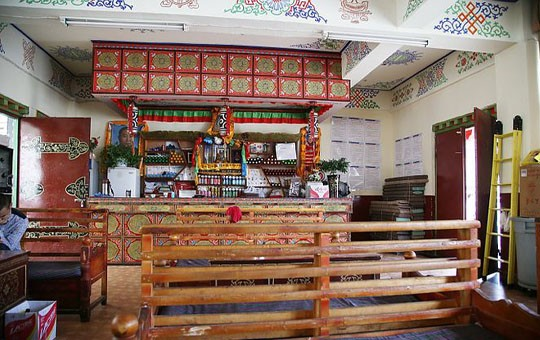 Samye Monastery restaurant