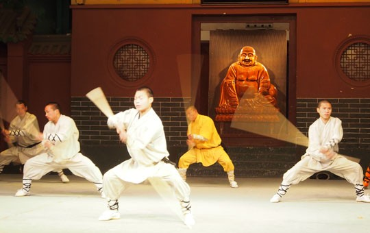 Kungfu Show at the Shaolin Temple