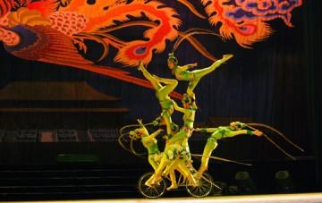 Akrobatik-Show im Chaoyang-Theater