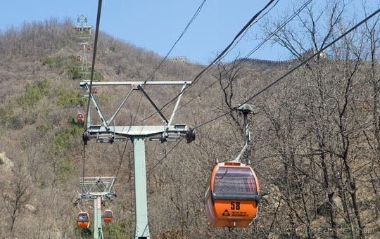 Mutianyu Great Wall cable car