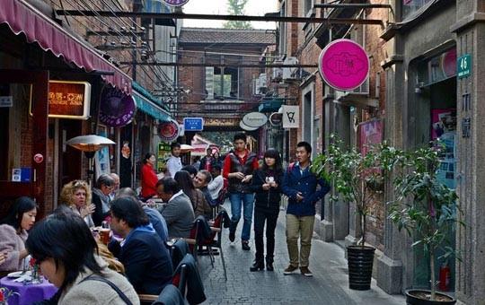 Tianzifang old alley