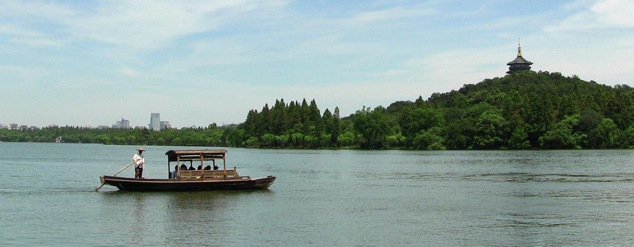Cruise on West Lake