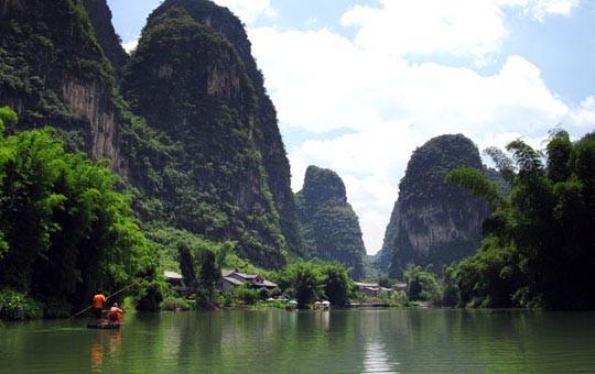 6 day yangshuo longsheng rice terraces guilin tour for 22 river terrace rockrose