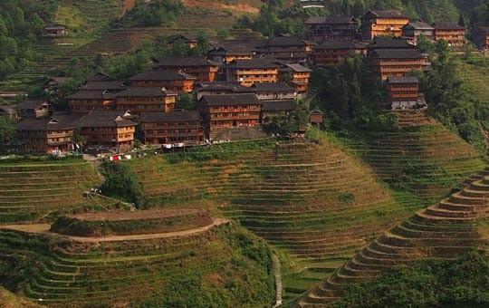 Tiantouzhai Village