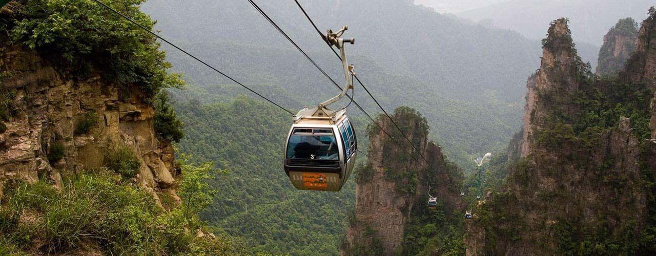 Huangshizhai Area Scenic