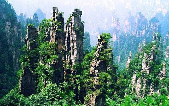 Tianzishan Mountain Area