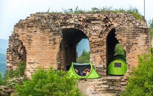 Sleep on the Great Wall