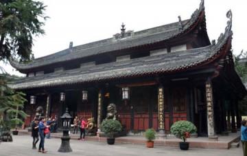 Tempelkloster Wenshu Yuan
