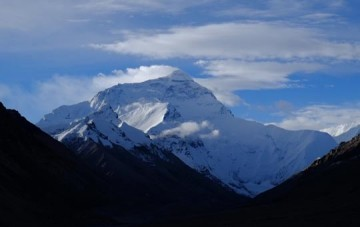 Basislager Nord am Mount Everest