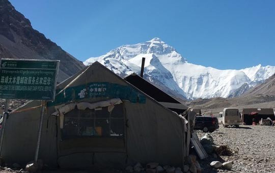 Mount Everest North Base Camp