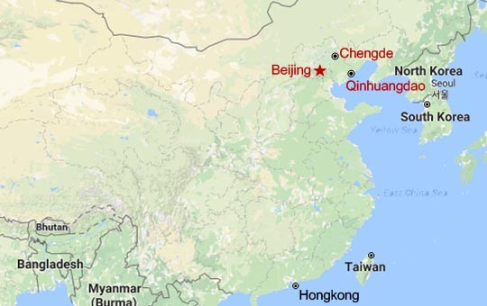 Day Beijing Chengde Qinhuangdao Tour Hike To Where The - Chengde map