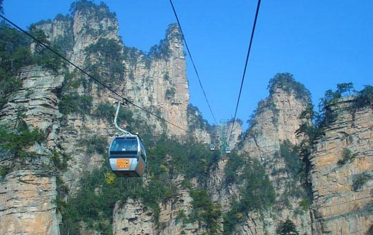 Tianzi Moutain Cable Car
