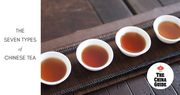The Seven Types of Chinese Tea