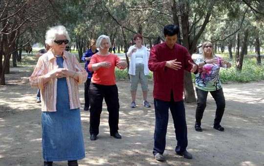 Taichi Class in the Temple of Heaven Park