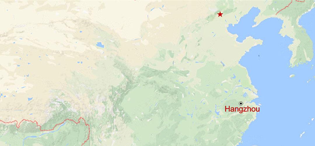 Das Beste von Hangzhou Map