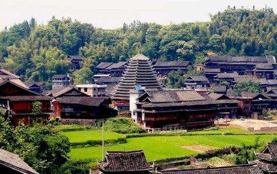 Chengyang Dong Minority Village ' Drum Tower ' 540x340 ' 1