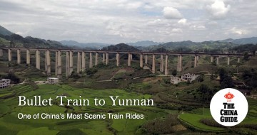 Bullet Train to Yunnan - One of China's Most Scenic Train Rides