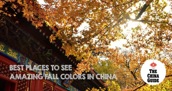 Best Places to See Amazing Fall Colors in China