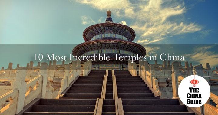 Los 10 templos más increíbles de China