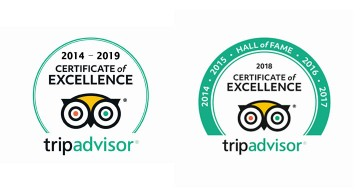 The China Guide receives the 2019 TripAdvisor Certificate of Excellence