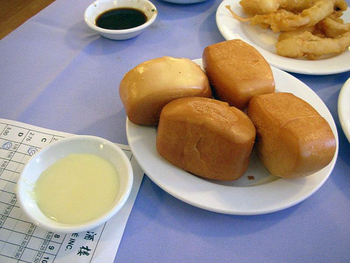 deep-fried mantou