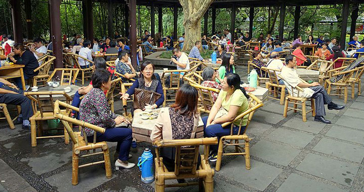 people's park teahouse in chengdu