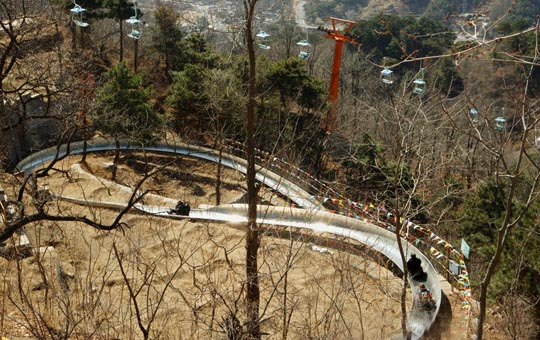Mutianyu Great Wall toboggan slide