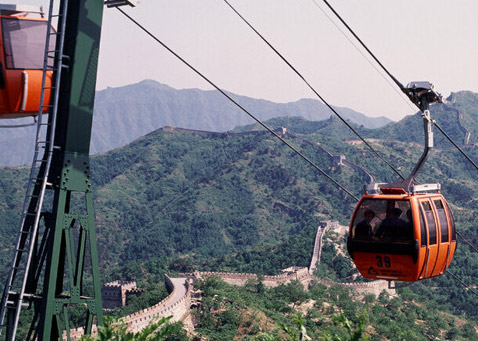 cable car for the Great Wall
