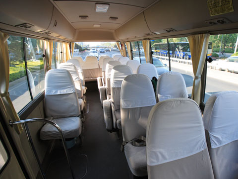 Toyota Coaster Bus Interior