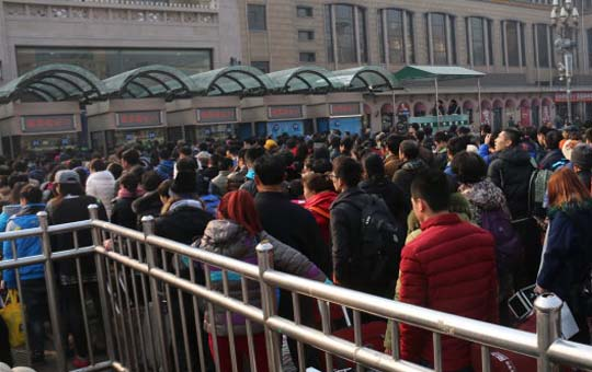 Spring Festival travel rush