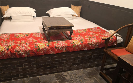 Traditional Chinese Hotel Room, Pingyao