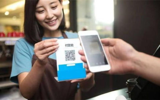 QR code mobile payment in China