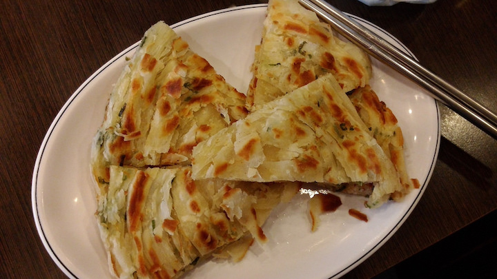scallion oil pancake