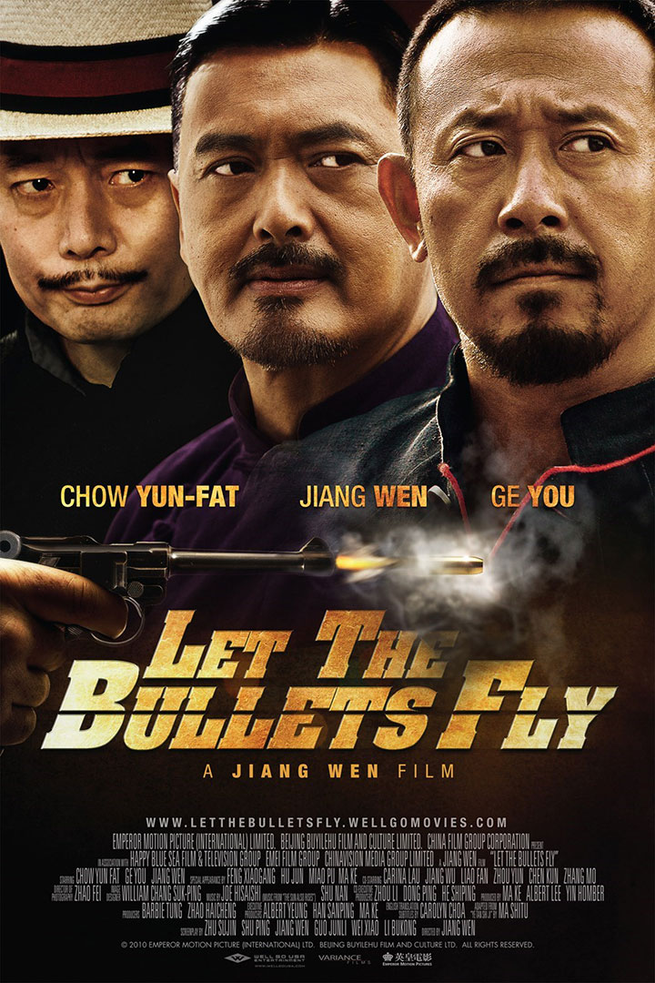 poster let the bullets fly